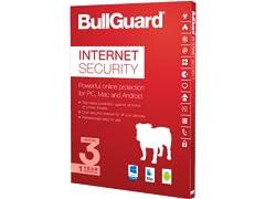 BullGuard Internet Security 2017 - 3 Devices/1YR