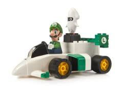 Luigi's Motorized Sprinter Kart Set