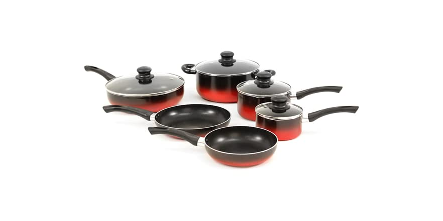 10 pc evolution cookware set 2 colors for Art and cuisine cookware