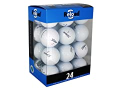 24pk of Recycled Titleist Golf Balls