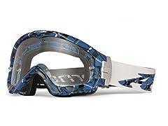 Series 3 MX Goggles Plaid, True Blue