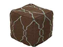 Artistic Weavers Pouf Tan