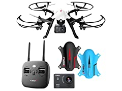 Force1 Ghost 1080p Action Camera Drone