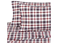 160 Gram Plaid Flannel Sheet Set