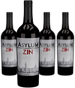 4-Pack Asylum Zinfandel from Luna Vineyards Wine
