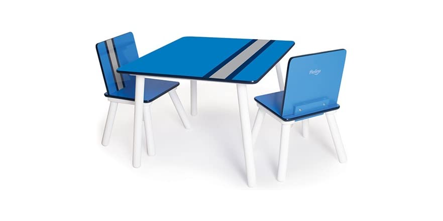 P Kolino Table And Chairs kolino Classically Cool Tables and Chairs - Racing Stripes - Kids ...