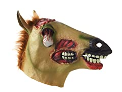Glow-in-the-Dark Zombie Horse Mask