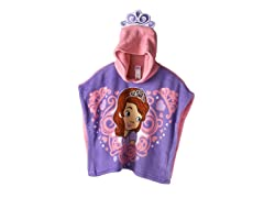 Sofia The First Hooded Poncho - Toddler