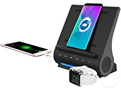 Azpen 15 Watt Fast Wireless Charging Sound Hub