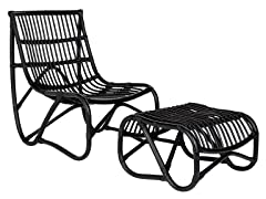 Shenandoah Chair, Black