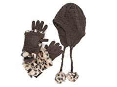MUK LUKS® Helmet and Glove Set
