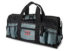 24-Inch Tool Bag, Black and Gray