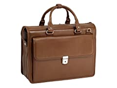 "Gresham Leather Litigator 15.4"" Laptop Brief"