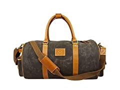 Aaron Leather Water-Resistant Duffel Bag