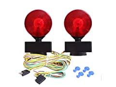 12V Two Sided Magnetic Towing Light Kit