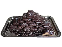 Candy Basket Dark Salted Toffee Bars