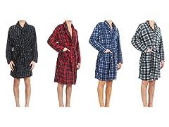Men's Micro Fleece Robes (1 or 2-Pack)
