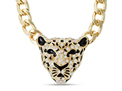 Swarovski Elements Tiger Statement Necklace