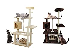 Furhaven Deluxe Playground Cat Tree
