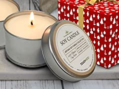 Touch Of Eco 4-Pack Vanilla Soy Candles