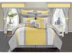 Chic Home Danielle 24-Piece Comforter Set