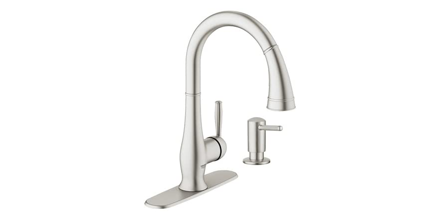 Grohe pull down kitchen faucet - Grohe kitchen faucets amazon ...