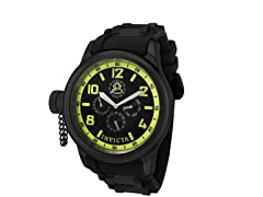 Men's Black Russian Diver Watch