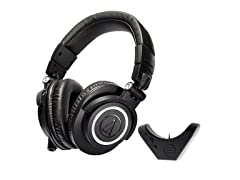 Audio Technica M50x with Bluetooth Adapter
