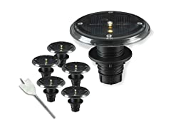 Solar Deck 5 Light Integrated Set
