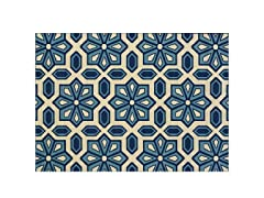 Cottage Ivory/Blue Rug- 8 Sizes