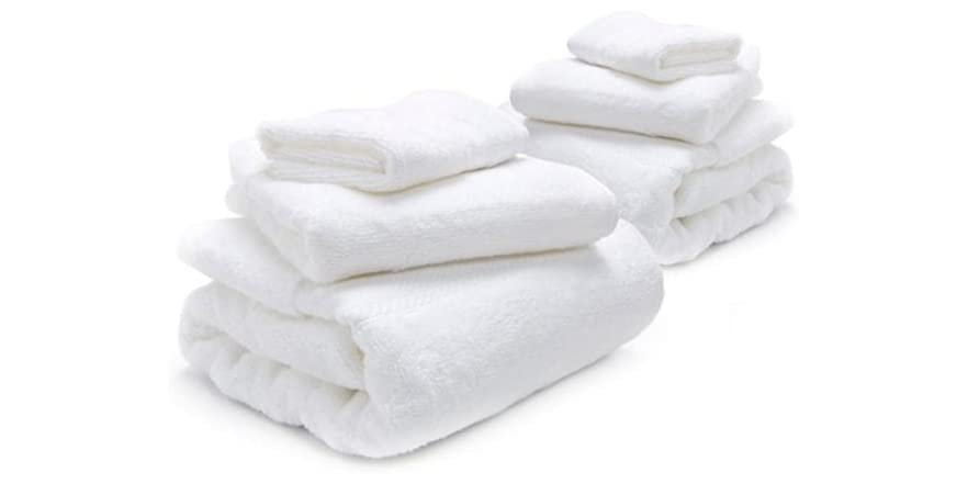 Home Source Microcotton Towel Set 2 Pack