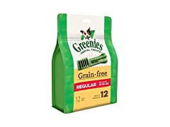 GREENIES GRAIN FREE DENTAL DOG