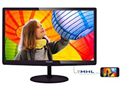 "Philips 23.6"" Full HD IPS Monitor"