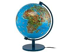 """DinoZ 11"""" Illuminated Globe"""