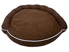 Luxury Bolster Pet Bed - Pick Color
