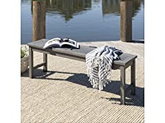 "Vincent 53"" Modern Patio Dining Bench"