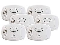 Deals on 6-Pack First Alert CO400 Carbon Monoxide Detector