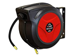 "ReelWorks 3/8"" x 50' Retractable Air Hose Reel"