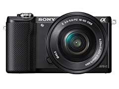 Sony a5000 20.1MP DSLR Camera w/16-50mm Lens