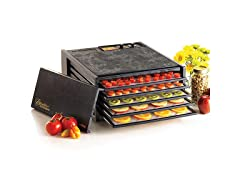 Excalibur 5-Tray Dehydrator with Timer, Black