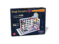 Snap Circuits 3D Electronics Kit, STEM