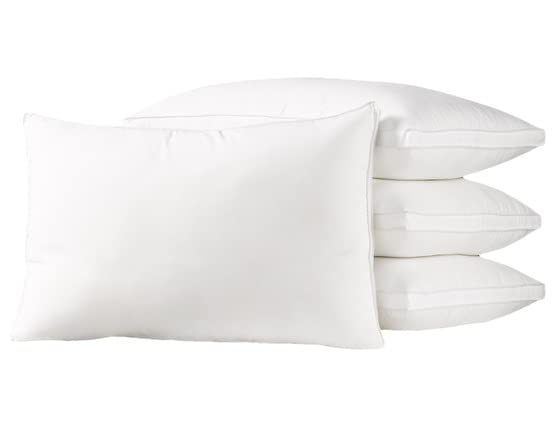 4-Pc Pack Exquisite Hotel Pillows