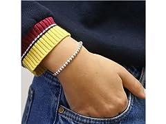 Sterling Silver Ball Bracelet