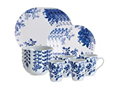 Tatnall Street 16pc Dinner Set - Bluebell