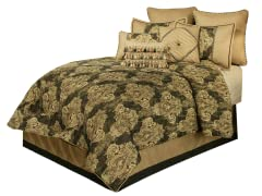 Medallion 7-Piece Comforter Set-Queen