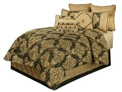 Medallion 7-Piece Comforter Set-Queen