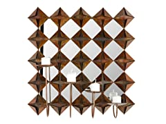 Origami Votive Wall Decor