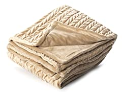 Amherst 50x60 Throw-Camel