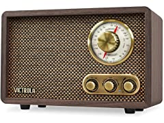 Victrola Retro Bluetooth/FM/AM Radio