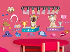 Peel & Play Accessory Pack - Pet Fashion
